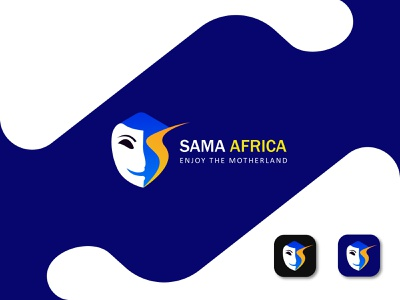Sama Africa logo design popular shot popular logo minimalist logo abstract logo creative logo modern logos graphic design 3d illustration design logotype branding design typography modern logo branding brand identity logos logo
