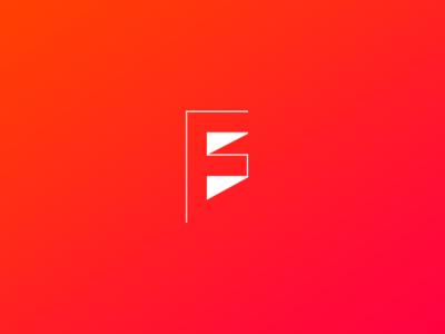 Experimental × FS monogram 02 letter typography fs monogram exploration experimental