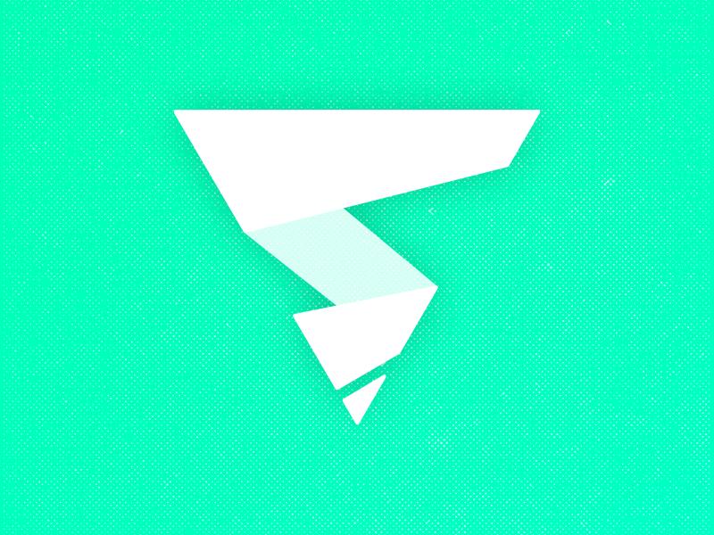subthing S Logo selfesteem drill brand branding lightning tornado pencil pen s monogram logo