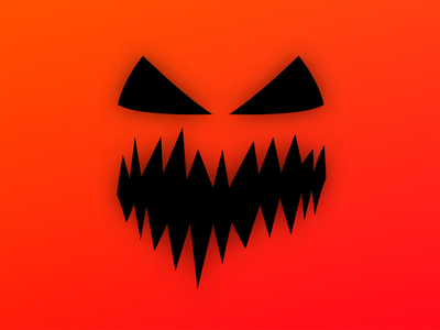 Experimental × minimalistic emotions character minimalistic exploration emoji halloween