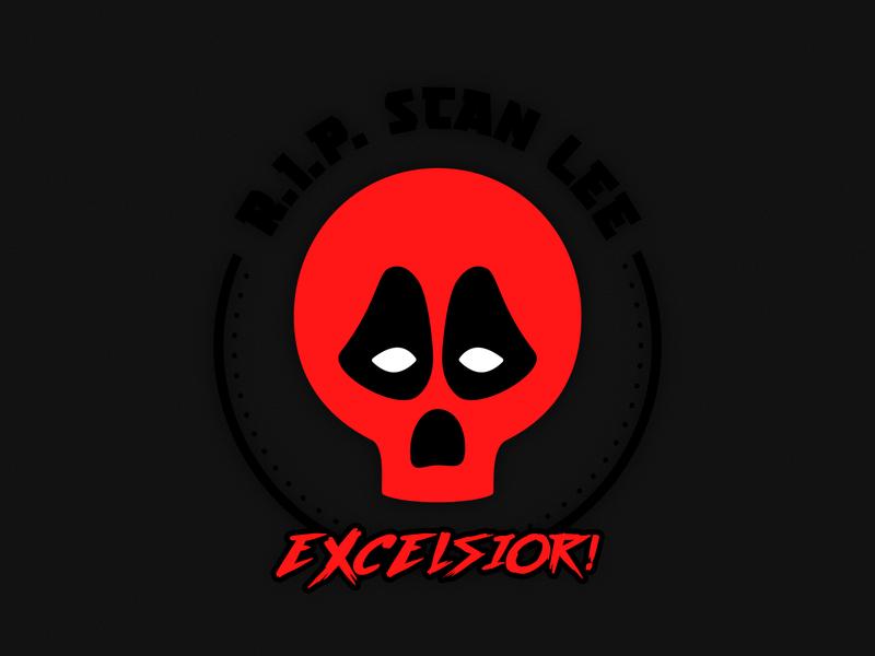 EXCELSIOR! RIP Stan Lee ripstanlee excelsior deadpool skull stanlee rip