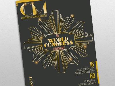 CM Magazine Cover - World Congress Preview Issue