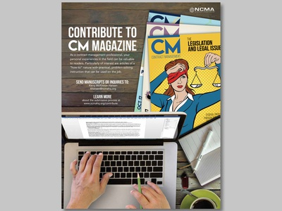 CM Magazine Editorial Ad