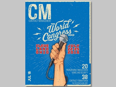 CM Magazine Cover for July 2018 Issue