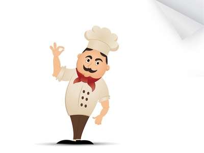 Chef Character Illustrator character design illustration chef game funny cute