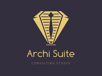 Architect Concept Logo brand design architecture draft logo