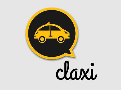 Bransys Claxy Proposal X vector ios android app concept taxi design logo