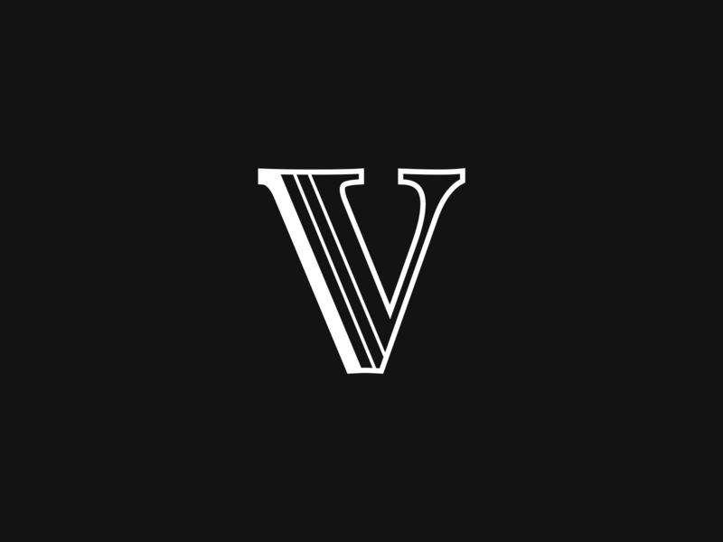 Velada Logo food gastronomy icon logotype premium lettering logo design app brand logo