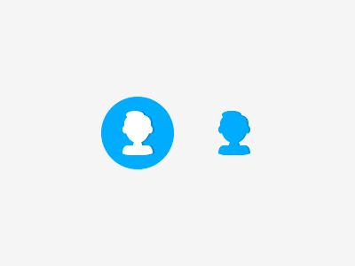 Profile icon user icon user icon profile glyph flat illustration
