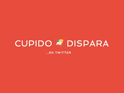 Cupido Dispara valentine day twitter cupid love logo app webapp red web