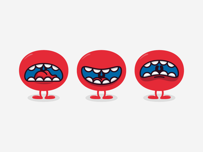 Monsters boca mouth monster