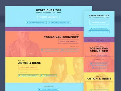 UXDesigner.top colors ui responsive mobile web uxdesign design ux