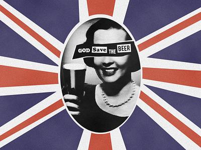 God Save The Beer beer queen god uk