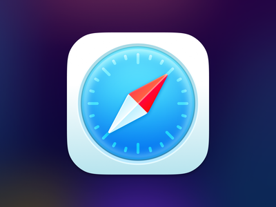 Safari App Icon for Big Sur replacement icon appicon bigsur safari