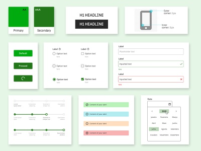 Library Ui Kit design design systems ui uikits