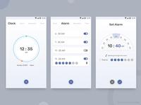 Clock App Concept