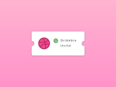 1 Dribbble invitation invite design invite giveaway giveaway invitation invite dirbbble