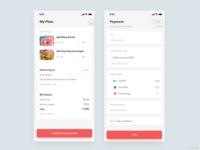 Food ordering UI exploration