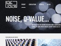 Sonic College Website