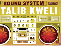 Soul Rebels West Coast Tour Poster Ft. Talib Kweli