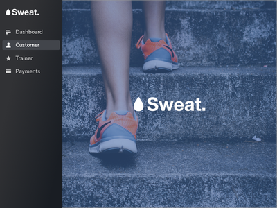 Sweat dashboard payments trainer customer fitness