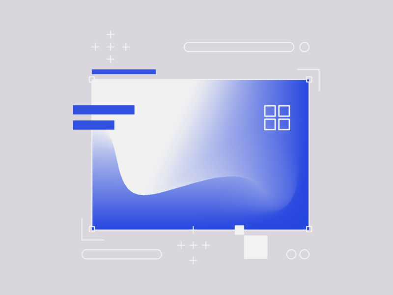 Abstract - Exploration icon vector icons illustration shape calculating ux ui gradients components exploration articifial intelligence ai minimal abstract geometry