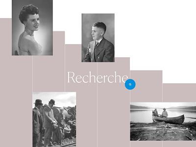 Cyberphotos - Recherche archives documents design web design digital exhibition museum vintage collection century photos research ux ui