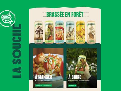 La Souche - Website revamp animation design natural brewery beer ux ux ui web website prototype gif ui
