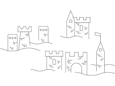 Auberge - Castle citadel palace hall donjon bastion flag city old city old quebec fortification castle