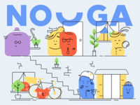 Nouga - Illustrations