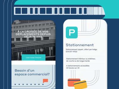 Gare Centrale - Mobile