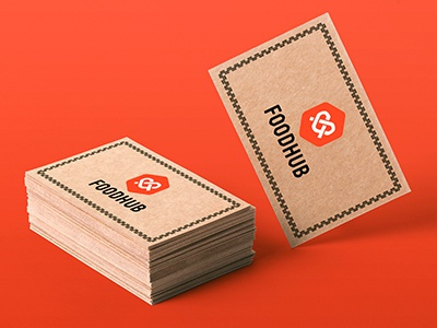 Foodhub business cards