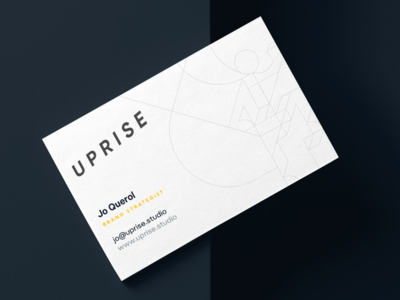Uprise Minimal Business Cards