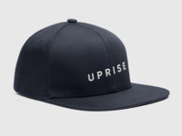 Uprise Logo on a Snapback