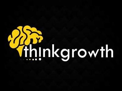 Thinkgrowth logo dribbble invite. dribbble illustration uiux motion vector graphic design branding logo