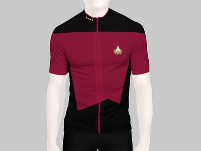 Starfleet Cycling Jersey
