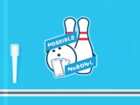 Company Bowling Team Logo