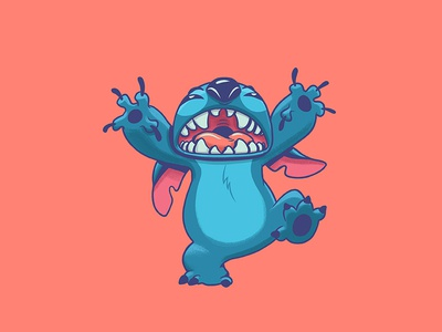 Stitch photoshop character art illustration design art disney art disney lilo and stitch stitch