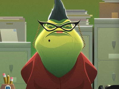 Roz By Alex Riegert Waters On Dribbble