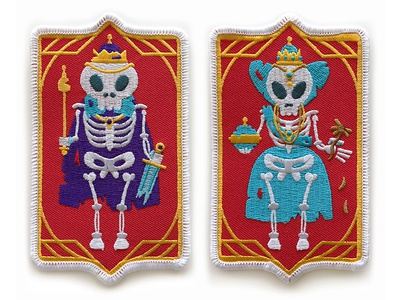 King and Queen Of Nothing Patches