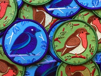 Birdwatching Patches 2