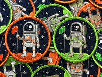Atsronaut Patches