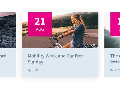 Event tag date widget ui event calendar