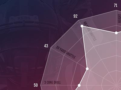 Spider Chart draft nfl football graph spider