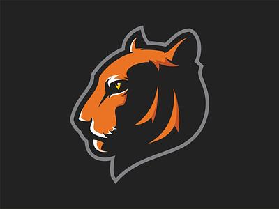 Tiger identity logo tiger