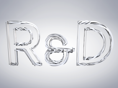Dynamic Text Tracer Experiment cinema 4d dynamic type text 3d swirl twist experimental rd white