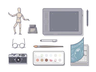 Tezigner designer illustration icon