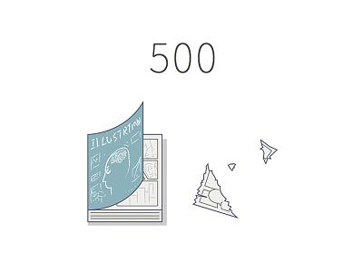 500 tezign 500 illustration icon web