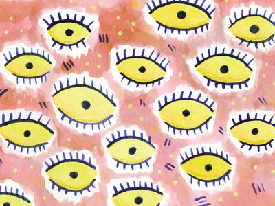 Gouachey Eyes