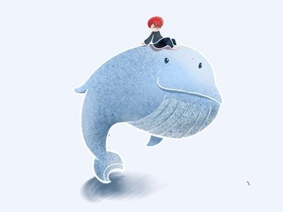 dream travel  whale